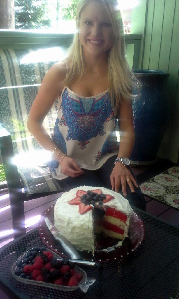 american flag cake recipes