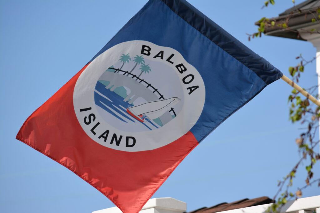 balboa island flag