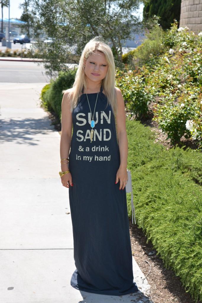 party maxi dress