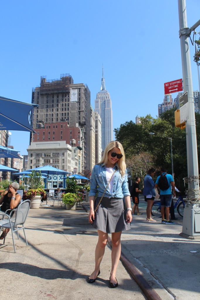 Caitlin Hartley of Styled American nyc fashion blog, Fall style