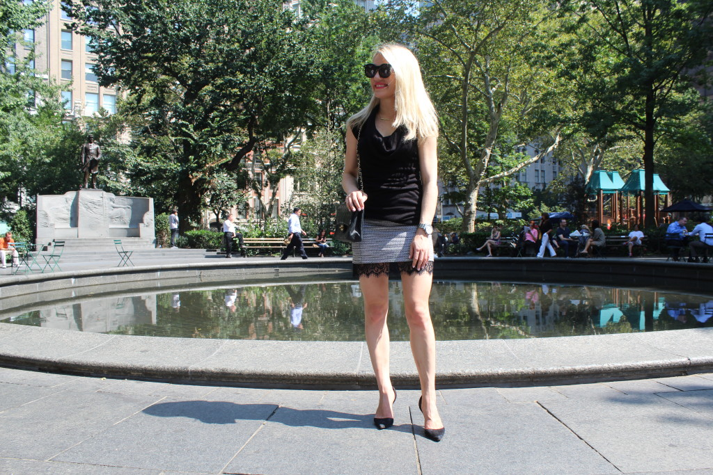 Caitlin Hartley of Styled American, date night outfit