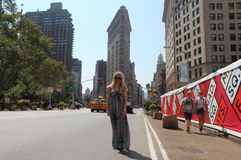 Caitlin Hartley of Styled American, vacation maxi dress