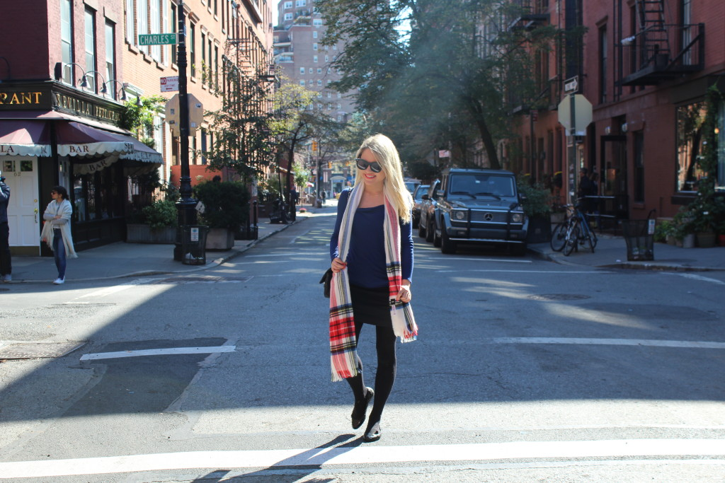 Caitlin Hartley of Styled American girl in the west village