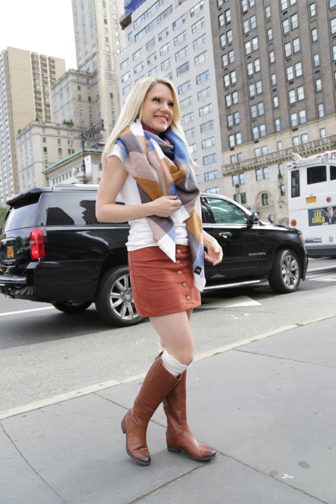 Caitlin Hartley of Styled American ridding boots and boot socks