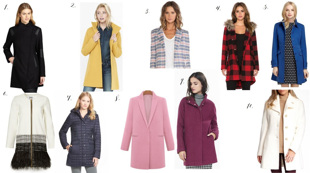Caitlin Hartley of Styled American colorful coats, fall coats, winter coats