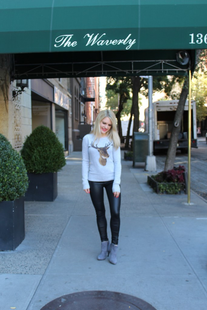 Caitlin Hartley of Styled American fashion blogger in the west village