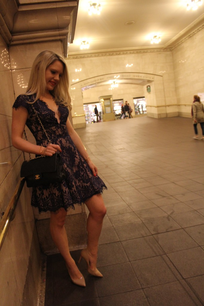 Caitlin Hartley of Styled American stylestalker lace dress