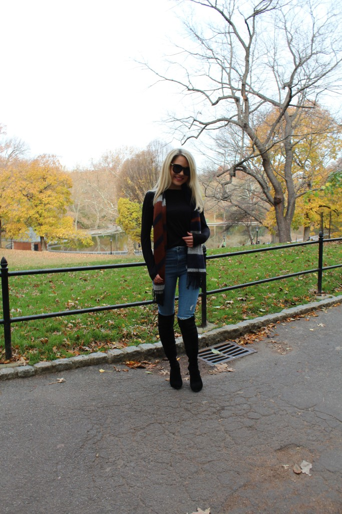 Caitlin Hartley of Styled American fall style, fall fashion, fall outfit
