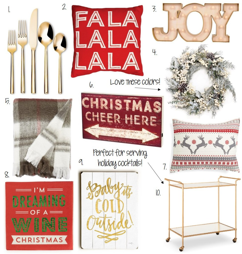 Caitlin Hartley of Styled American holiday decor guide, christmas decor picks