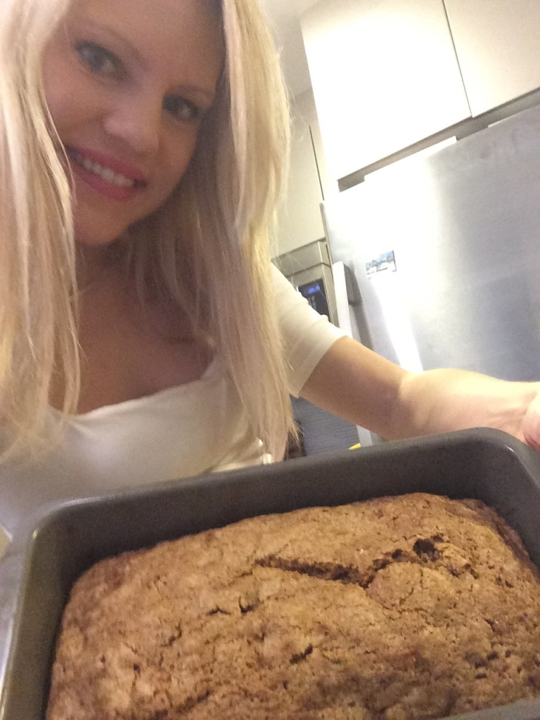 Caitlin Hartley of Styled American style blogger's zucchini bread recipe