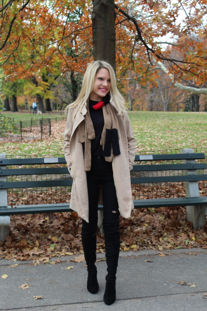 Caitlin Hartley of Styled American stuart weitzman look-a-likes, over the knee black boots