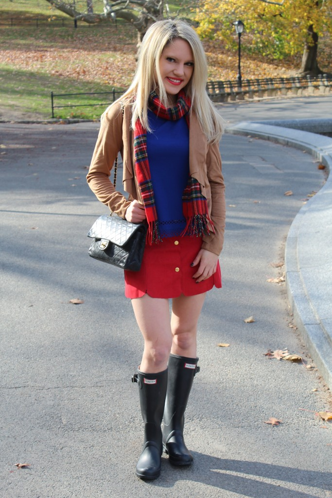 Caitlin Hartley of Styled American preppy all american style, Winter layers