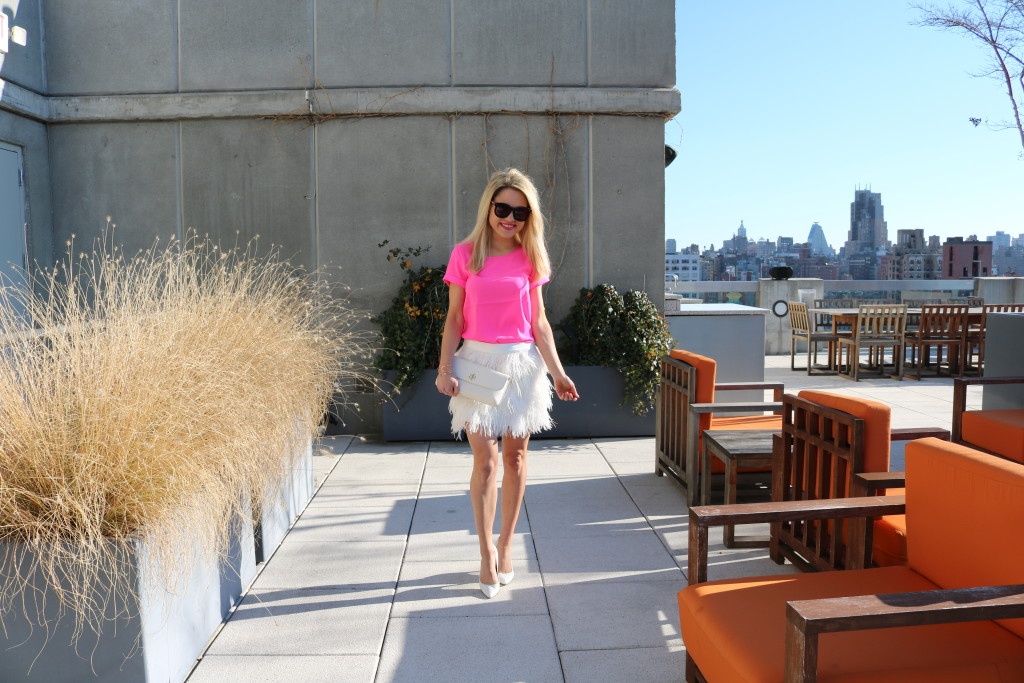 Caitlin Hartley of Styled American girly style