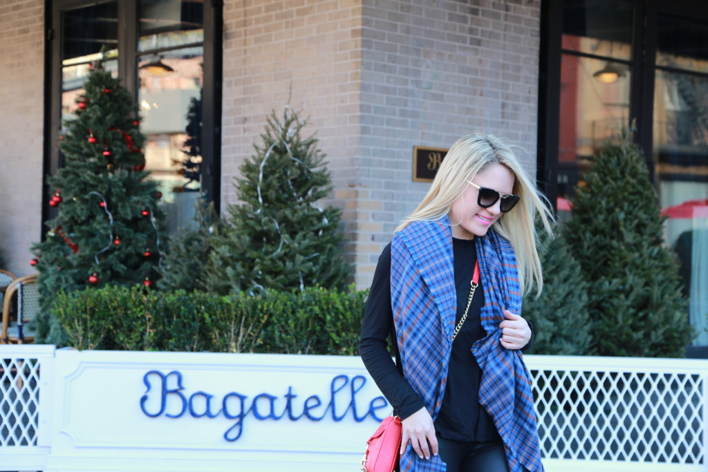 Caitlin Hartley of Styled American rebecca minkoff cross body bag