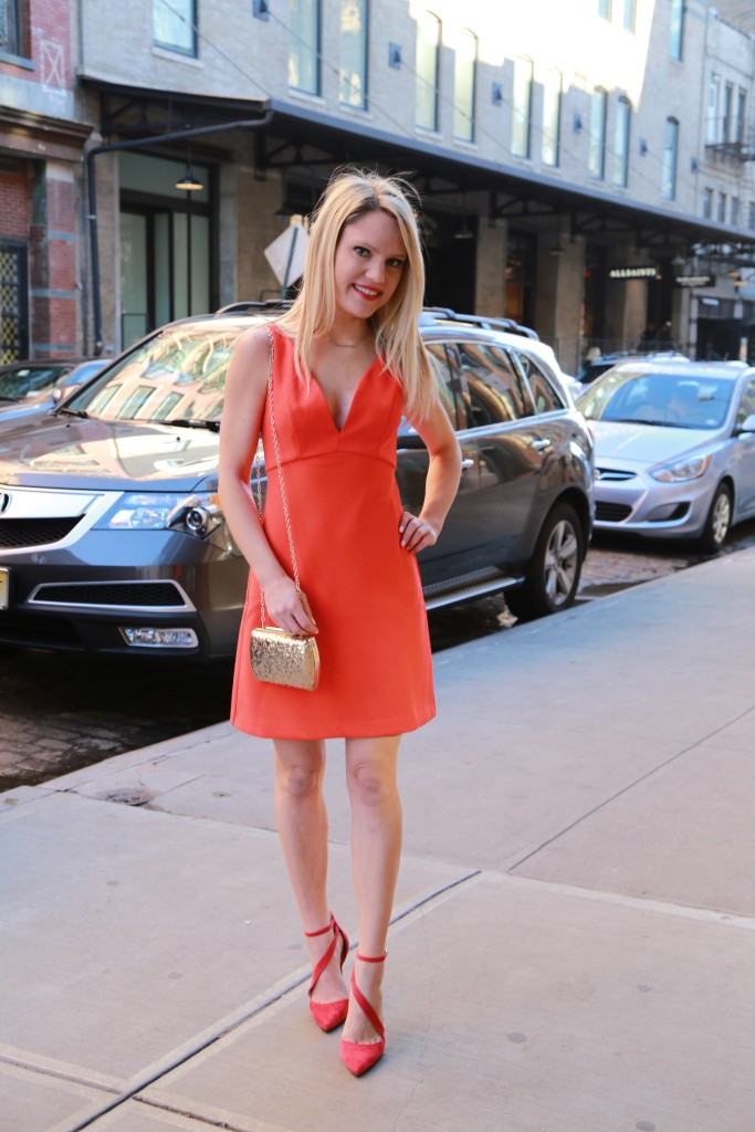 Caitlin Hartley of Styled American vday dresses, vday outfit ideas