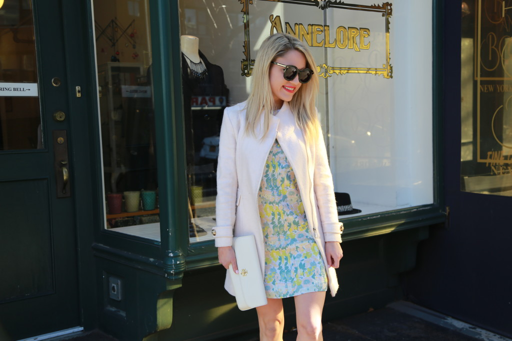 Caitlin Hartley of Styled American short mod dress