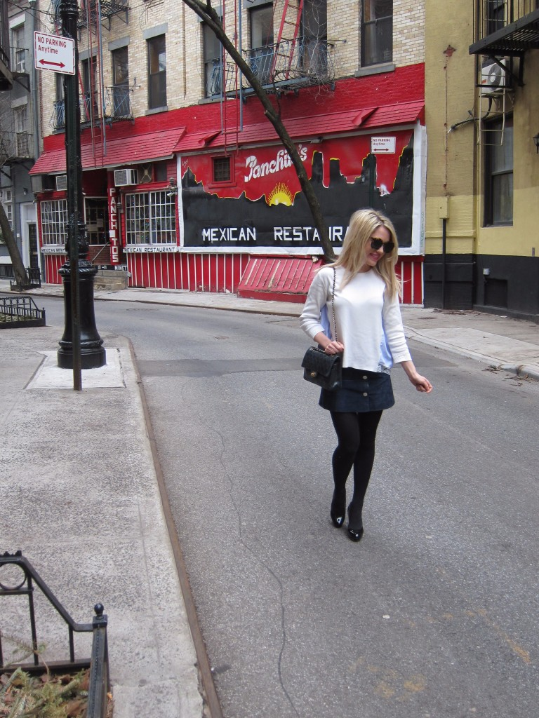 Caitlin Hartley of Styled American nyc blogger in the west village