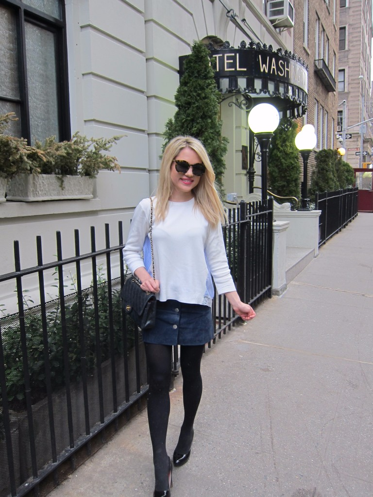 Caitlin Hartley of Styled American fashion blogger shopbop style