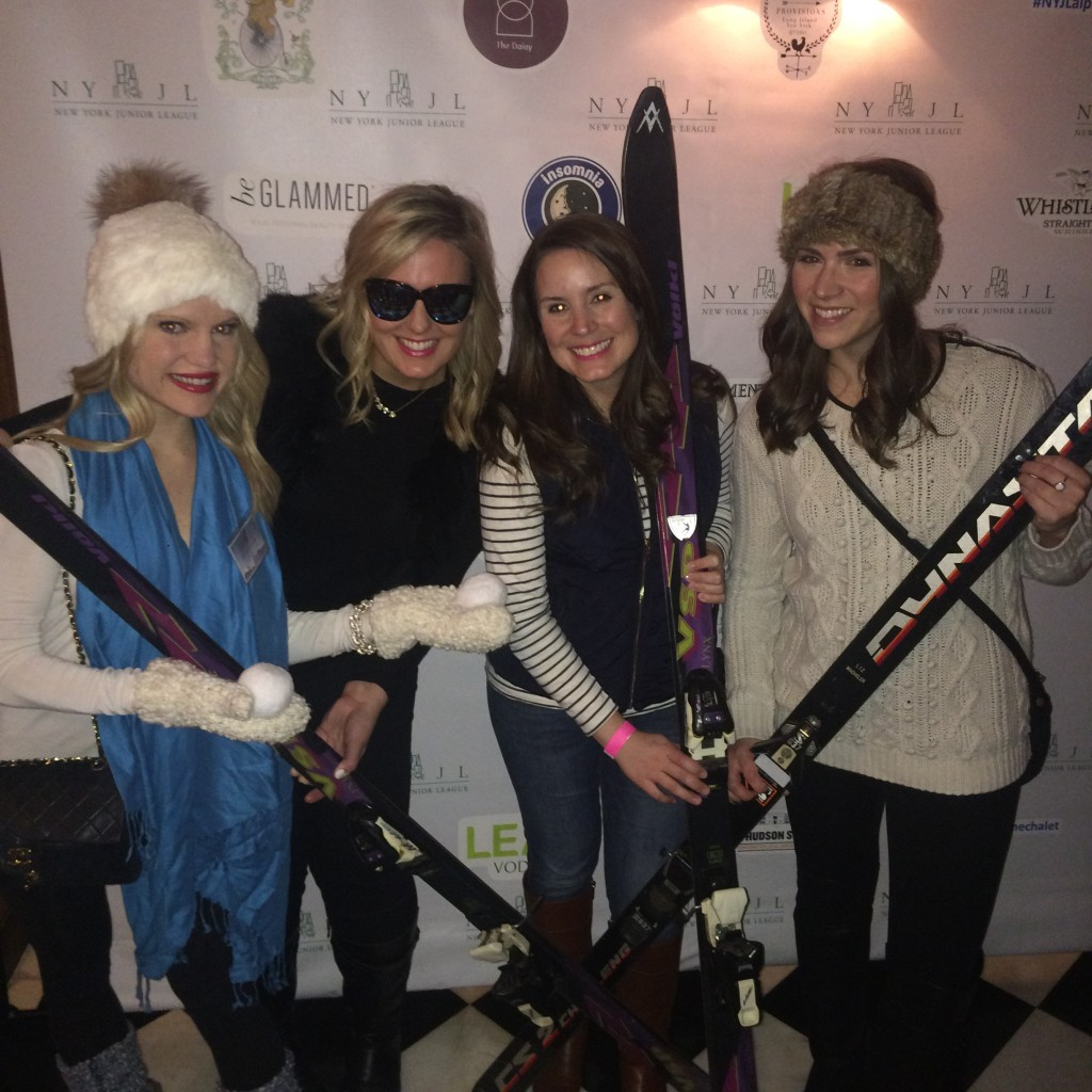 Caitlin Hartley of Styled American apres ski at the NYJL