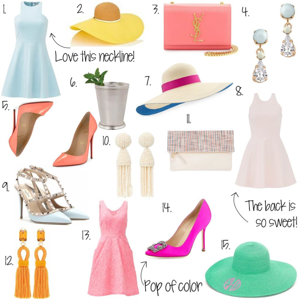 Caitlin Hartley of Styled American Kentucky Derby style picks, what to wear to the kentucky derby, derby outfit inspiration