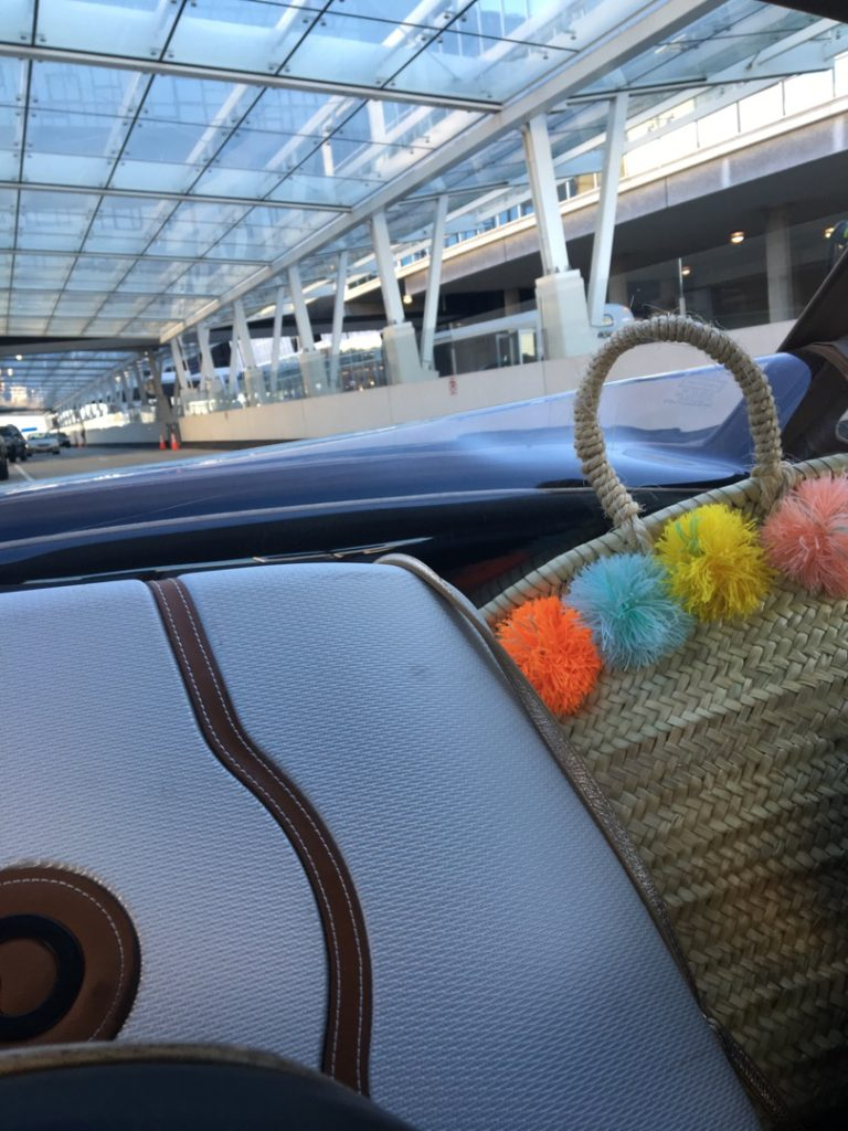 Caitlin-Hartley-of-Styled-American-luggage-in-a-convertible