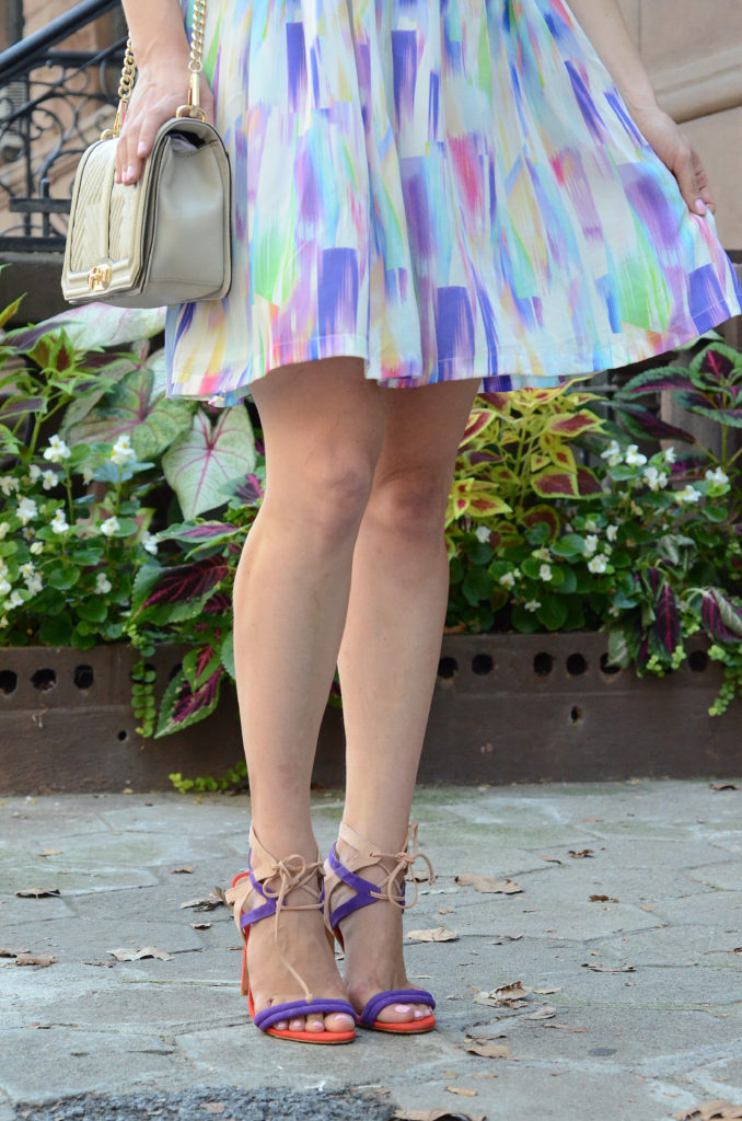 shoefie-print-dress