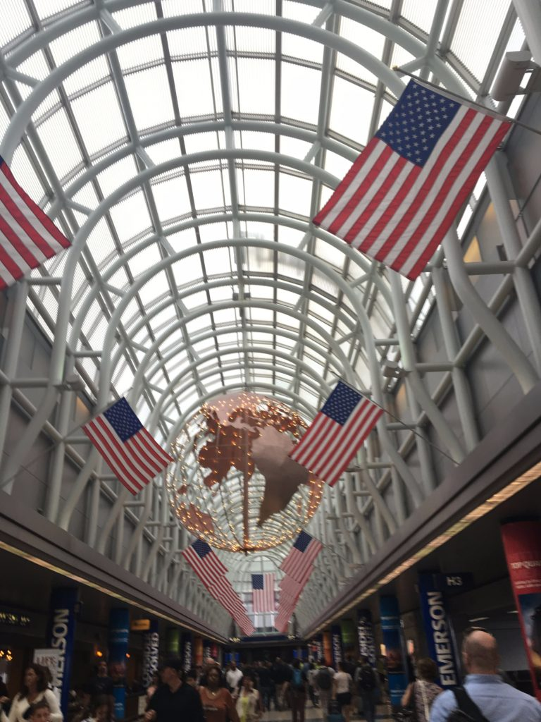 chicago-airport-american-flags