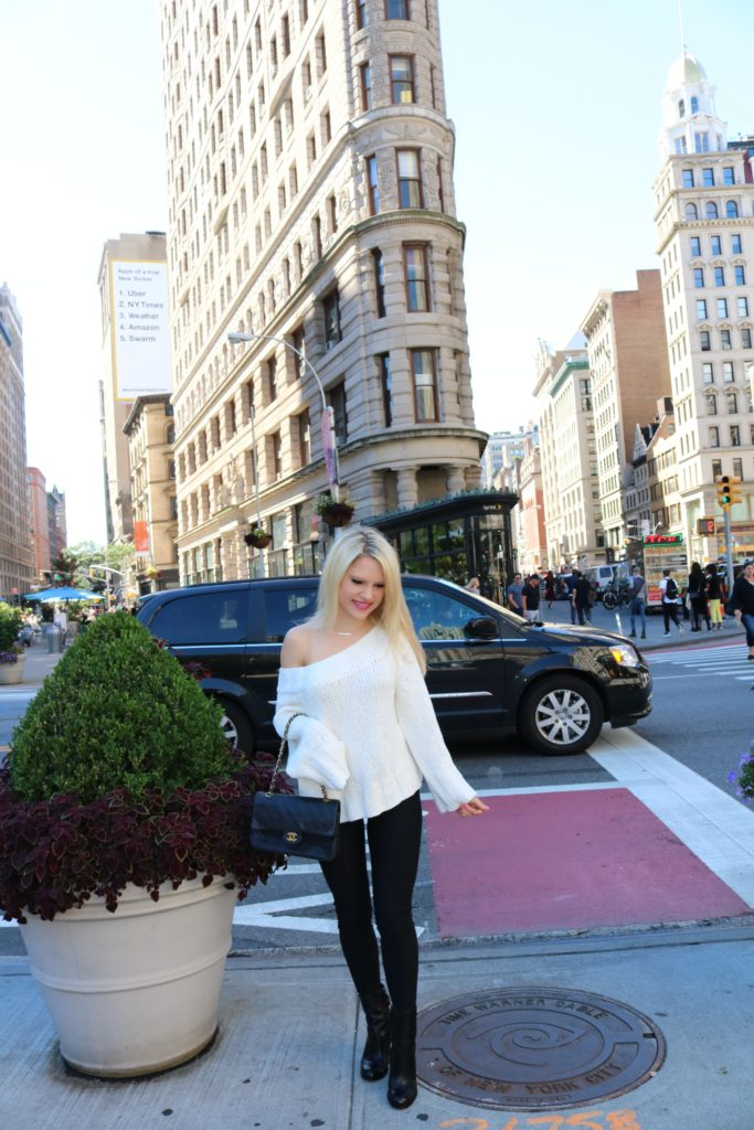slouchy-sweater-fleece-leggings http://styledamerican.com/where-to-go-december-in-nyc/