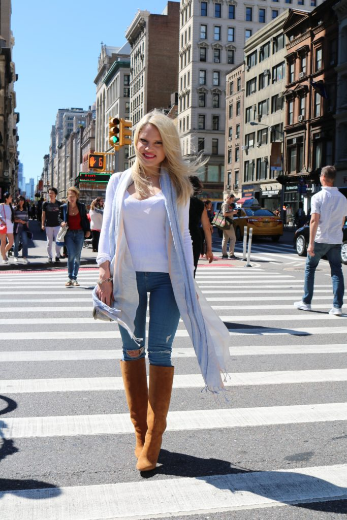 blue-tan-outfit-ideas http://styledamerican.com/blue-x-neutrals/