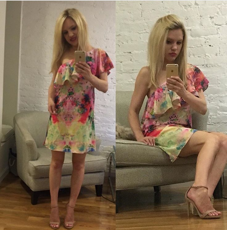 a-by-amanda-floral-dress http://styledamerican.com/style-grams/