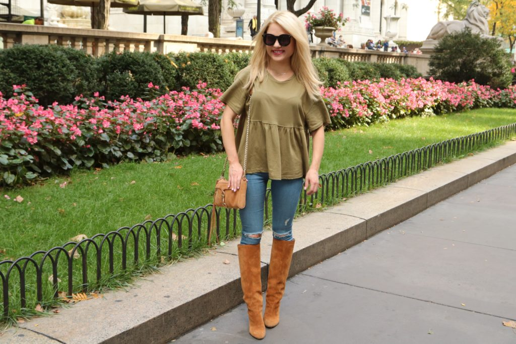 peplum-top-skinny-jeans-suede-boots http://styledamerican.com/flash-sale-tuesday/