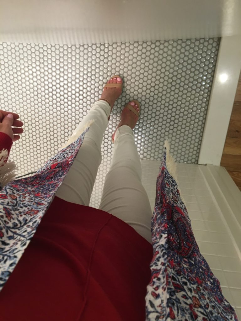 from-above-fall-outfit-selfie http://styledamerican.com/style-grams/