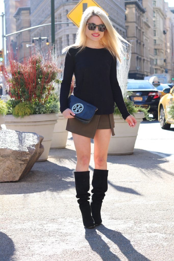 green-chicwish-skirt-black-boots-black-top http://styledamerican.com/the-moments-i-knew-getting-married-was-a-mistake/
