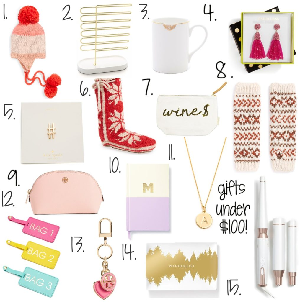 holiday-gifts-for-her-under-$100 http://styledamerican.com/gift-ideas-for-her-under-100/