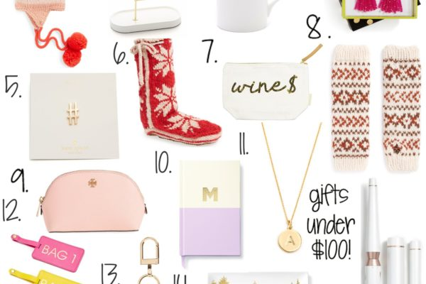 GIFT IDEAS FOR HER UNDER $100