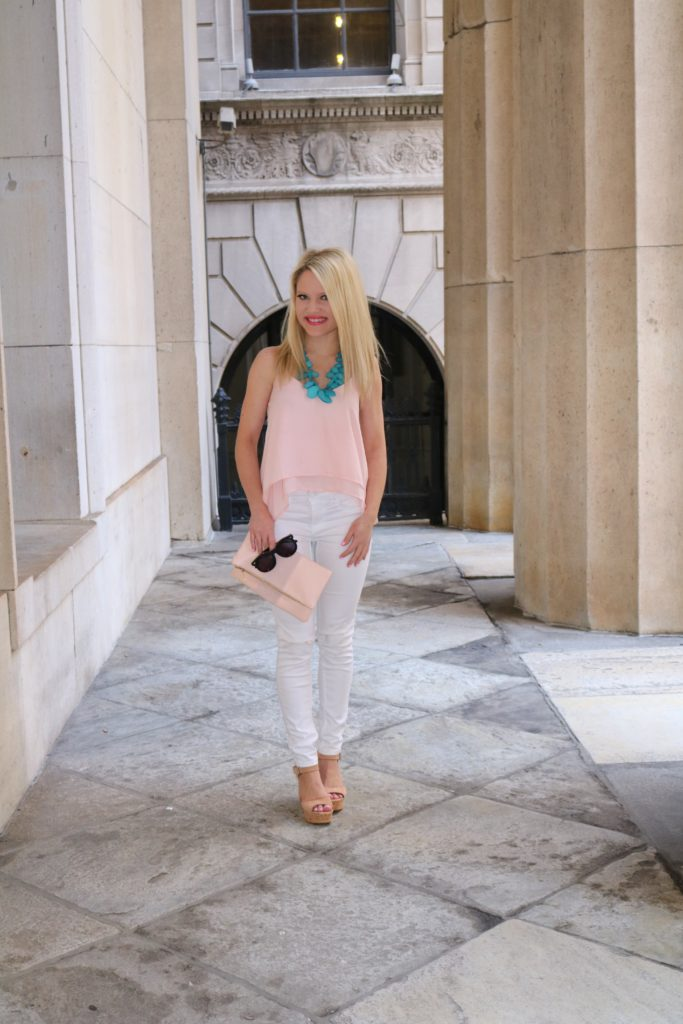 bp tank top bp clutch http://styledamerican.com/summer-outfit-styled-entirely-from-nordstrom/