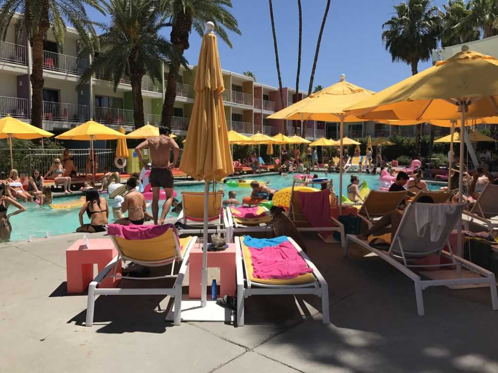 The Saguaro Palm Springs hotel pool