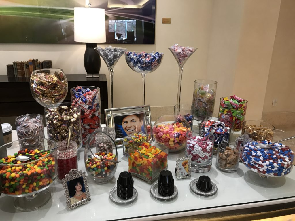 candy at the ritz carlton rancho mirage