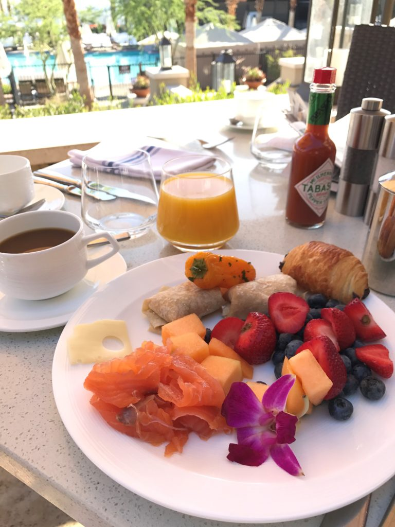 breakfast at the ritz carlton rancho mirage