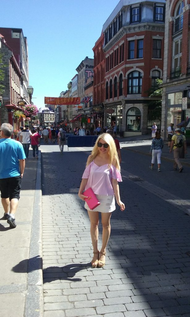 vacation style in Quebec City