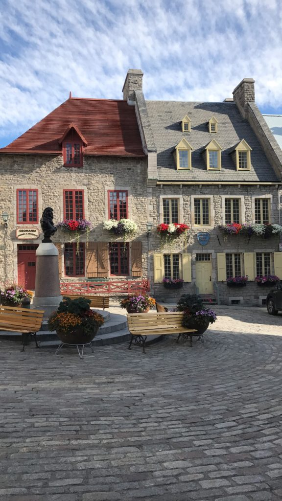 Quebec City charm and cobblestone streets